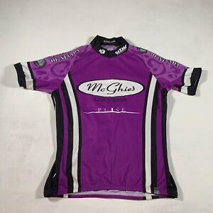 A240 Sugoi Purple Las Vegas Cycling Jersey Women's Size Small