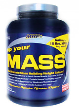 MHP, Up Your Mass Weight Gainer, Strawberry, 4.65 Pound