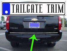 Chevy TAHOE 2007 2008 2009 2010-2014 Chrome Tailgate Trunk Trim Molding