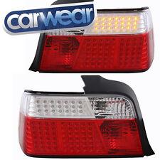 BMW E36 3-SERIES SEDAN 4DR CLEAR RED LED TAIL LIGHT 318i 320i 323i 325i 328i M3