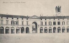 Rovato  - Portici di piazza Cavour - 1918