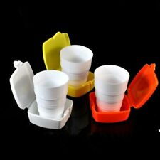 Retractable Water Bottle For Travel Camping Rinse Cup Drinking Cup Folding Cup