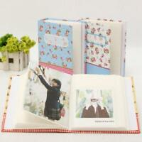 6*4 Inch Photo Album 100 Photos Storage Case Family Party Baby Picture Film W