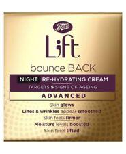 L;ft Bounce Back Advanced Night Re-Hydrating Cream 1x50ml Lift Boots NEW
