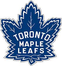 """Toronto Maple Leafs NHL Hockey bumper sticker wall decor vinyl decal, 5""""x 4.7"""""""