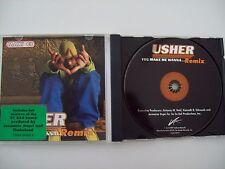 USHER - YOU MAKE ME WANNA (REMIX) - ORIGINAL CD-SINGLE
