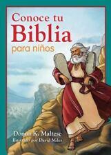 Conoce Tu Biblia Para Ninos: Mi Primera Referencia Biblica Para Ninos de 5 a 8 A