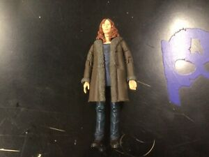 """10th Doctor Who Companion Donna Noble Fur Coat Series 4 Catherine Tate 5"""" Figure"""