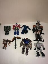 Hasbro TRANSFORMERS Lot of 7 Action Figures Optimus Prime Grimlock Autobot Drift