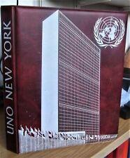 sammlung UNO New York FDC`s Flaggen der Nationen gestempelt