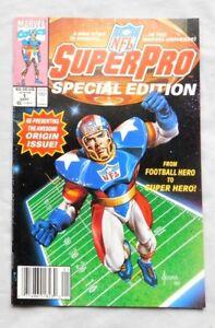 NFL Super Pro #1 Marvel Comics September 1991