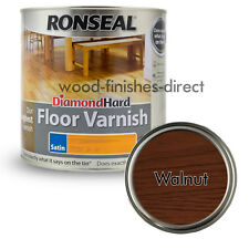 Ronseal 35948 2.5l Diamond Hard Floor Varnish - Walnut
