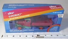 SIKU EUROBUILT 1934 WHITE DIECAST DELIVERY TRUCK TOY STILL IN BOX