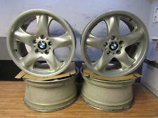 1x Satz ALUFELGEN 18 Zoll Original + BMW X5 E53 Felgen 8,5x18 ET48 5x120 1096160