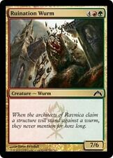 MTG Magic GTC FOIL - Ruination Wurm/Guivre de ruine, English/VO