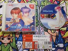 DEAD OR ALIVE 2 DC DREAMCAST NTSC JAPAN COMPLETO EN BUEN ESTADO