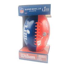 Super Bowl 53 LIII NFL Official Commemorative Football Red White Blue Atlanta 19