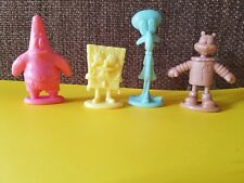 Lot of 4  Sponge Bob Figures Viacom 2002