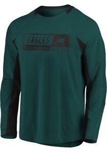 Fanatics Men's Philadelphia Eagles LS Flex Bend Engage Jersey Shirt Large L NFL