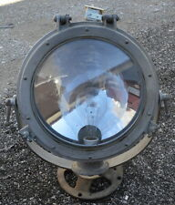 Rare Antique Westinghouse Chromilite Floodlight Signaling Searchlight