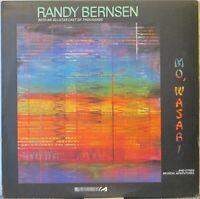 RANDY BERNSEN Mo' Wasabi LP Jazz w/Steve Gadd, Pastorius, Hancock, Marcus Miller