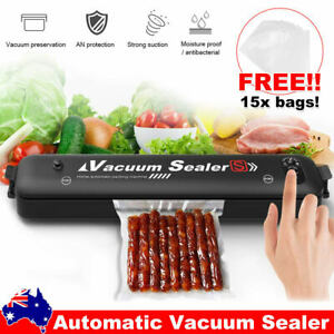 Automatic Vacuum Sealer Food Packing Machine with 15pcs Vaccum Bags Kitchen Tool