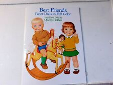 Best Friends Paper Dolls in Full Color by Queen Holden - 0486249735 uncut book