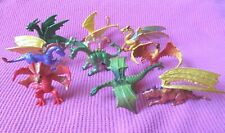 "Safari LTD. miniature DRAGONS 2"" WINGED FIGURES LOT OF 9"