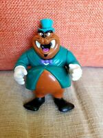Vintage Darkwing Duck Tuskerninni Figure Playmates Disney 1991
