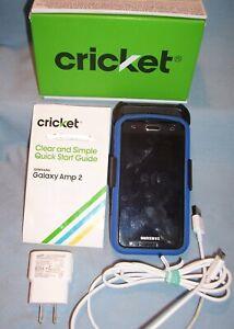 CRICKET SAMSUNG GALAXY AMP 2 SM-J120AZ 8GB Android Smartphone Camera IM Internet