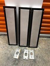 3 B&W FPM5 Stereo Speakers