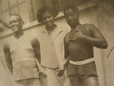 ANTIQUE AFRICAN AMERICAN LIFEGUARDS DOUGLAS PARK TENNIS INDIANAPOLIS IN PHOTOS