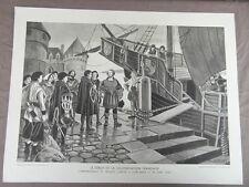 affiche ECOLE SCOLAIRE 1955/60 signée ALFRED CARLIER HISTOIRE CIVILISATION 1/22