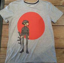Amplified Gorillaz Empire Antz Gray T Shirt Vintage Washed  Sm, Med, Lg, XL