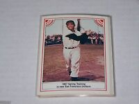 1983 ASA The Willie Mays Story Card #7 of 12 Giants 1957 Spring Training