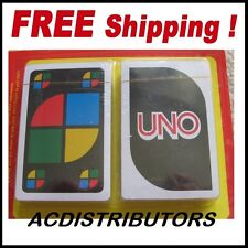 """UNO Playing Cards 2 or more PLAYERS """"New Uno Cards 2Pk"""" Family Fun"""