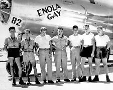 Enola Gay B-29 Superfortress Bomber Crew BW 10x8 Photo