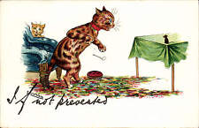 Louis Wain. If Not Prevented in P.M. & Co's Louis Wain Start Off Series # 4249.
