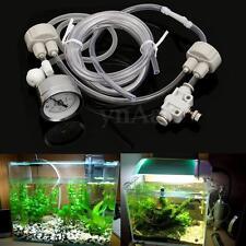 DIY CO2 System Set Kit CO2 Reactor Planted Marine Aquarium Tank Fish Air Tubing