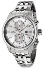 Invicta Men's 0248 Specialty Qtz Chronograph Silver Dial Watch UPC 843836002486