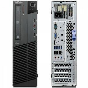 LENOVO M92p SFF i5-3470 QUAD 3.2GHz 4GB RAM 500GB HDD DVDRW WIN 10 PRO