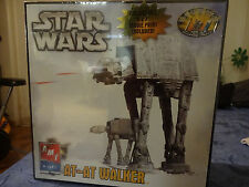 NEW SEALED BOX STAR WARS AT-AT WALKER MODEL KIT AMT ERTL MOVIE PRINT POSTER RARE