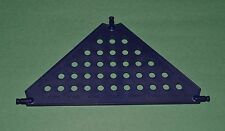"""K'Nex large blue triangular panel connector - 7 1/2"""" wide - combined shipping"""