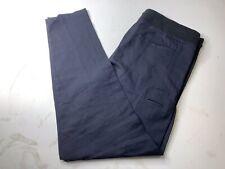 YIGAL AZROUEL Men's Casual Lounge Pants Joggers Blue Wool Blend Size 31