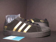 ADIDAS SUPERSTAR VULC x DGK DIRTY GHETTO KIDS CORE BLACK GOLD NMD R1 B72827 9.5