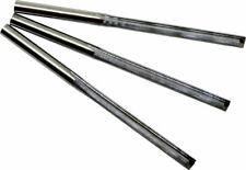 3 Fraises 2 dents à taille droite (Bois,PVC,ABS,MDF,Mousse) dia 4x4x42 mm CNC