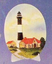 Fire Island New York 3 Dimensional Light House Decorative Plaque