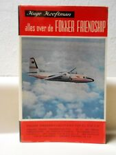 Hugo Hooftman Alles Over De FOKKER FRIENSDHIP Book 151 Pages