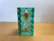 Rare Antique - SANDGLASS clock - RELOJ DE ARENA - Metacrilato Metacrylate