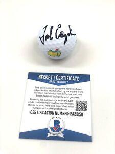 Fred Couples Hand Signed Masters Augusta Golf Ball PGA Golf Beckett BAS #1